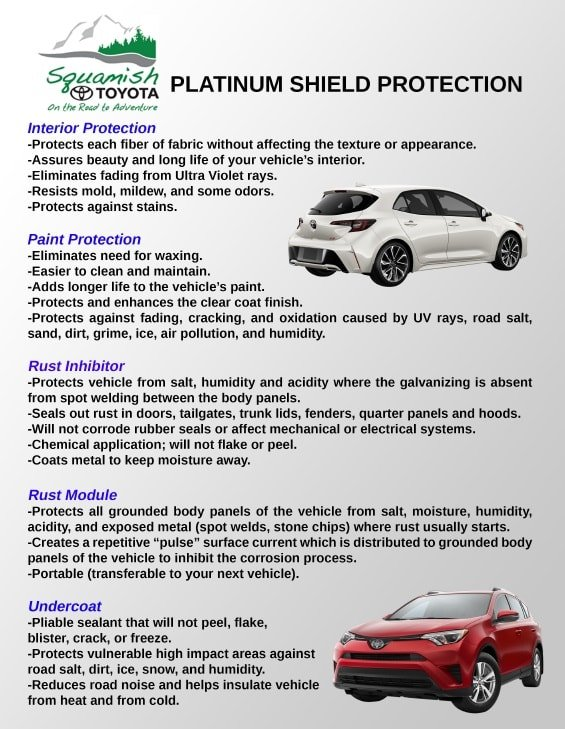FIRST CANADIAN PLATINUM SHIELD PROTECTION | Squamish Toyota